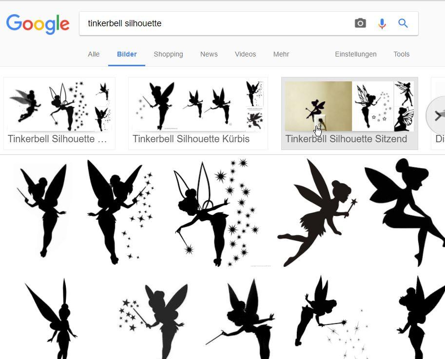 Das passende Plotter-Motiv. Mit Google und Co kein Problem